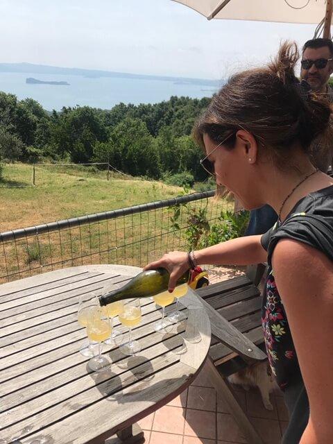 wine tour in lazio